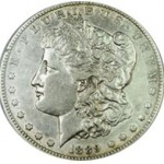 Srebrna Moneta - Morgan Silver Dollar 1889 CC