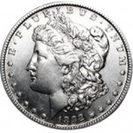 Srebrna Moneta - Morgan Silver Dollar 1892 S