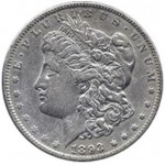 Srebrna Moneta - Morgan Silver Dollar 1893 O