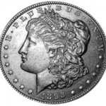Srebrna Moneta - Morgan Silver Dollar 1893 S