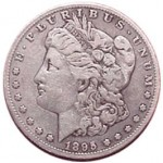 Srebrna Moneta - Morgan Silver Dollar 1895 O
