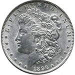 Srebrna Moneta - Morgan Silver Dollar 1896 O