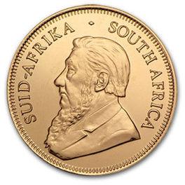 1/10 uncji Krugerrand zlota moneta - Awers