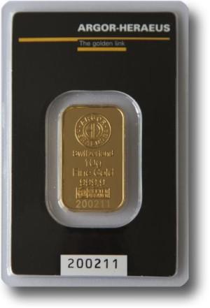 10 gram Sztabka Zlota Perth Mint Australia - Awers