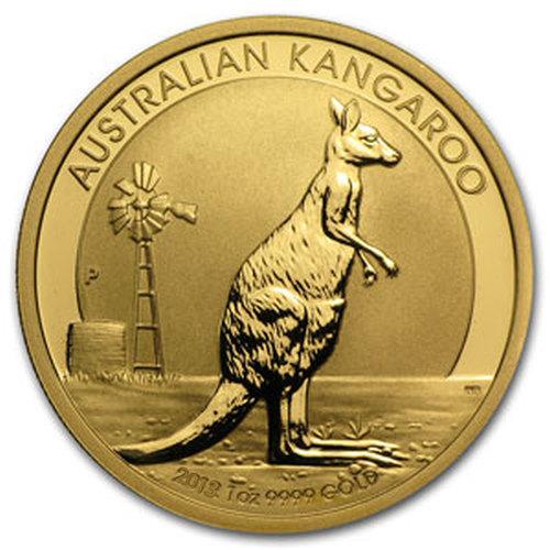2013-1oz-Australijski-Kangur[Australian-Kangaroo]-Rewers