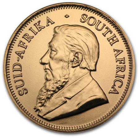 1/2 uncji Krugerrand 2020 zlota moneta - Awers