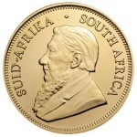 1/4 uncji złota moneta Krugerrand - Awers