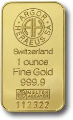 1uncja-Sztabka-Zlota-Argor-Heraeus-Szwajcaria-Awers