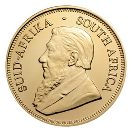 1/4 uncji Krugerrand zlota moneta - Awers
