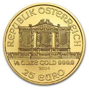 1/4oz-Zloty-Wiedenski-Filharmonik-zlota-moneta-Rewers