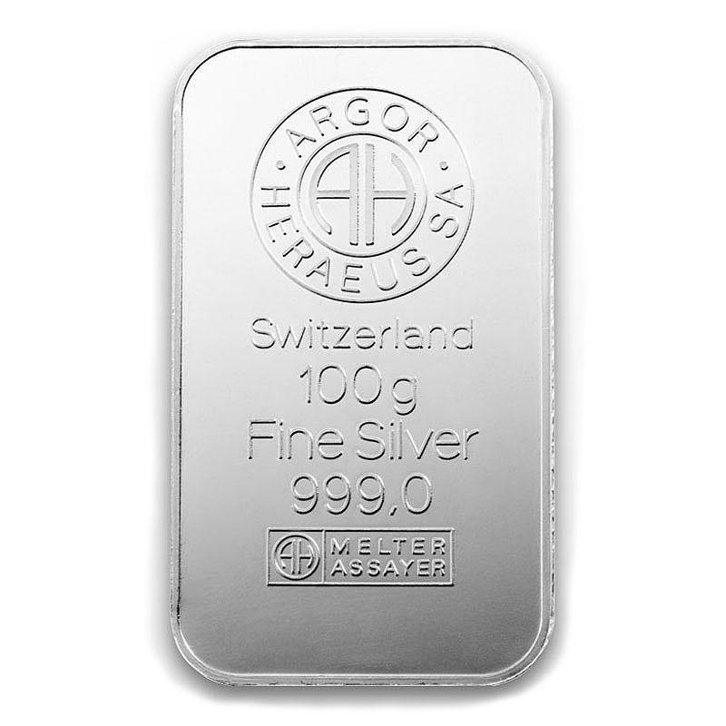 100-gram-sztabka-srebra-Argor-Heraeus