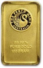 100g-Sztabka-Zlota-Perth-Mint-Australia-LBMA
