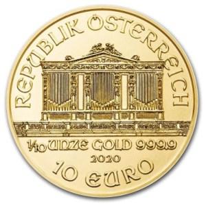 1/10 oz-zloty-Wiedenski-Filharmonik-2020-zlota-moneta-rewers