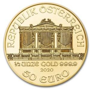 1/2oz zloty Wiedenski-Filharmonik-2020-zlota-moneta-rewers
