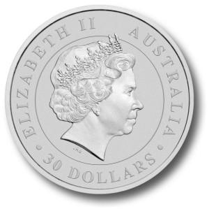 1kilo-srebrna-Koala-moneta-bulionowa-Awers