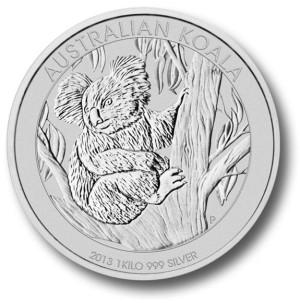 1kilo-srebrna-Koala-moneta-bulionowa-Rewers