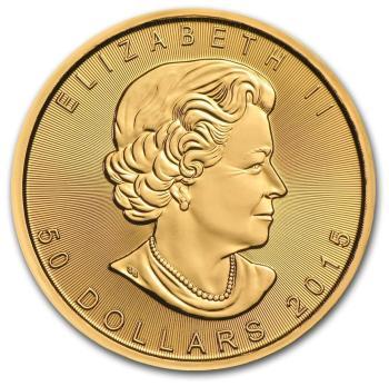 1oz-Kanadyjski-Lisc-Klonu-zlota-moneta
