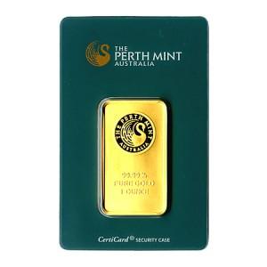 1oz-Sztabka-Zlota-Perth-Mint-Australia-Certicard-LBMA