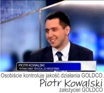 Złoto Piotr Kowalski GOLDCO