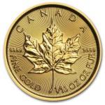 1/10-oz-Kanadyjski-Lisc-Klonu-zlota-moneta-2015-rewers