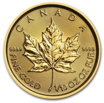 1/10-oz-Kanadyjski-Lisc-Klonu-zlota-moneta-2018-rewers