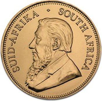1/2 uncji Krugerrand zlota moneta - Awers