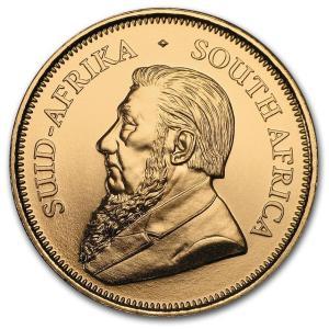 1oz Krugerrand rocznik 2017 złota moneta awers