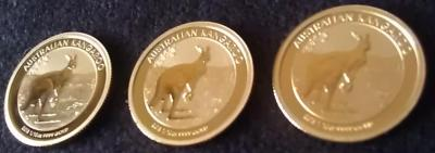 Zlota-Moneta-Australijski-Kangur-1-10-uncji-Rocznik2013-Rewers