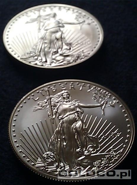 Zlota-moneta-Amerykanski-Orzel-2013-Awers