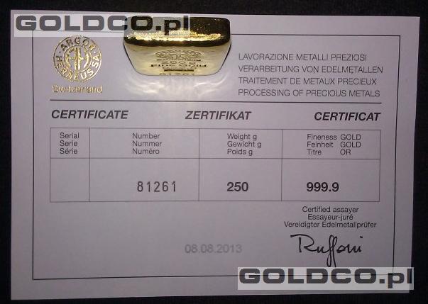 sztabka-zlota-certyfikat-250g-LBMA