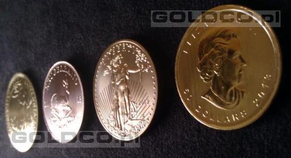 złota-britannia-zloty-krugerrand-zloty-amerykański-orzeł-kanadyjski-liść-klonowy