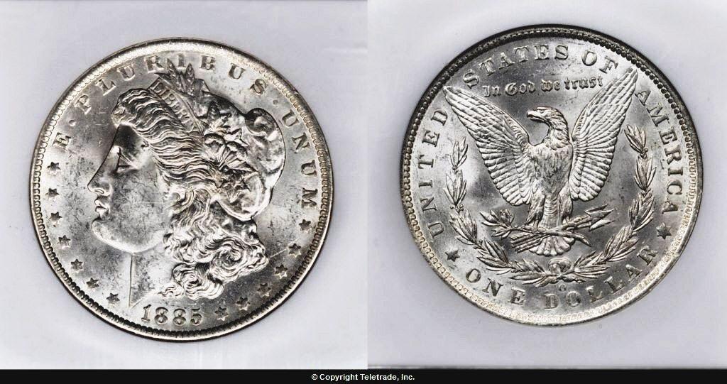 Srebrny-Morgan-Dollar-stan-zachowania-nieobiegowy