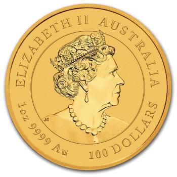 1oz Australijska Seria Księżycowa Rok Myszy 2020 złota moneta