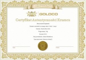 Krugerrand-1oz-2014-Certyfikat