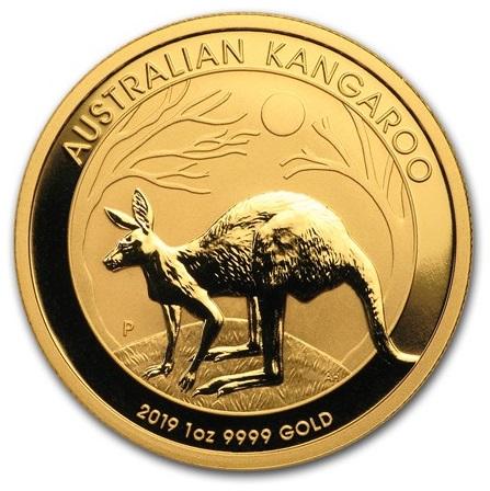1oz-australijski-kangur-zlota-moneta-2019-rok-rewers
