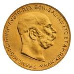 100-Koron-Austriackich-1915-zlota-moneta-Awers-3