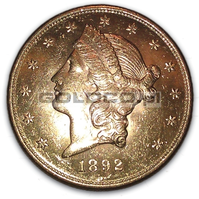 20-zlotych-dolarow-double-eagle-S-1892-awers
