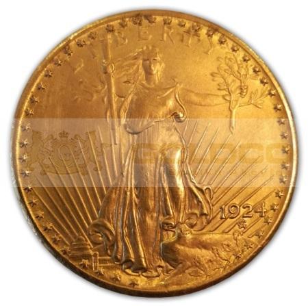 20dollars-zlota-moneta-USA-1924-StGaudens-awers