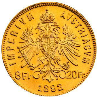 8-Guldenow-Austro-Wegierskich-zlota-moneta-Rewers