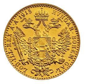 1-Dukat-Austriacki-zlota-moneta-rewers