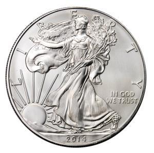Amerykański Srebrny Orzeł 1oz Srebrna Moneta Rocznik 2015