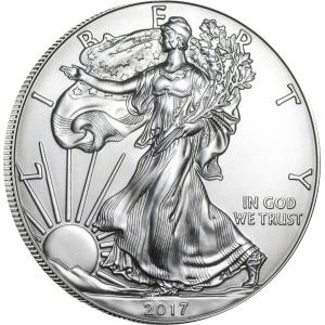 1oz-amerykanski-orzel-srebrna moneta-2017
