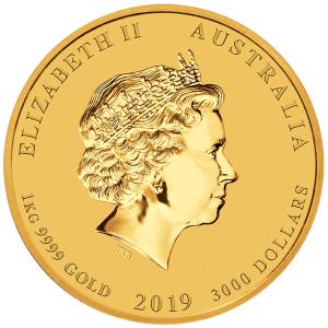 1oz-Rok-Swini-2019-Seria-Ksiezycowa-zlota-moneta-awers