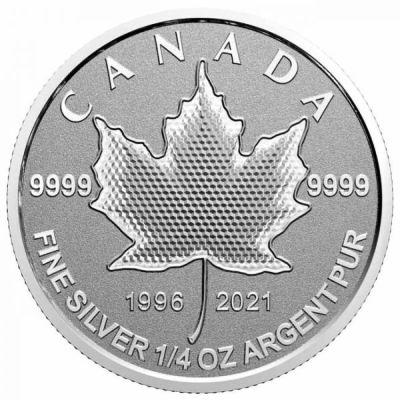 1_4_oz-Lisc-Klonu-25lat-emisji-srebrnych-monet-rewers