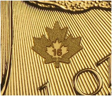 1oz-Kanadyjski-Lisc-Klonu-hologram-certyfikat