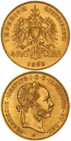 4-Guldeny-Austro-Wegierskie-zlota-moneta-1892