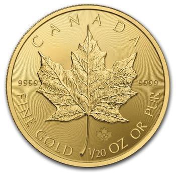 1/20-oz-Kanadyjski-Lisc-Klonu-zlota-moneta-2018-rewers