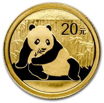 1/20-oz-Zlota-Chinska-Panda-2015-zlota-moneta-awers
