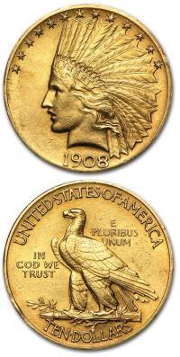 10-dollars-1908-zlota-moneta-awers-rewers