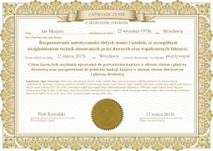 swiadectwo-szkolenie-rozpoznawanie-autentycznosci-zlotych-monet-sztabek